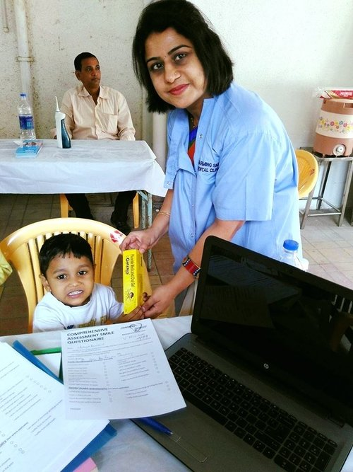 Dr. Snehal Jain Charming Smiles Dental Clinic Dombivli West,Mumbai
