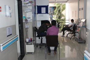 Waiting Area|Elpis IVF Center & Maternity Home|Aundh,Pune