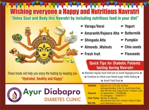 Tips for diabetic patients for fasting