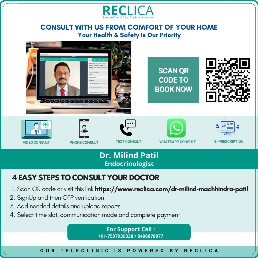 Online Consultation with Dr. Milind Patil
