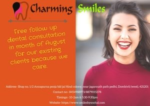 Contact at charming smiles