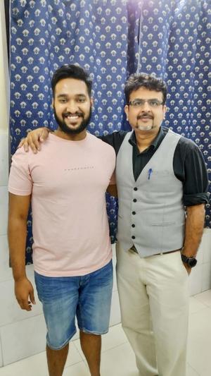 Happy Patient with Dr. Nakul Shah|Dr Nakul Shah|Karve Road ,Pune