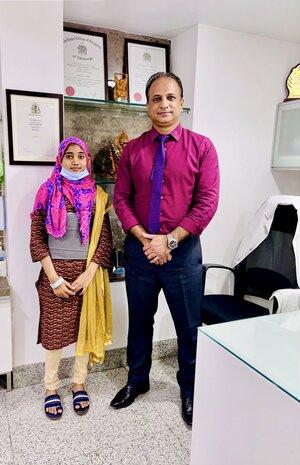 Pt Salwa Bano -Deformity Correction|Dr.Kiran Kumar Lingutla|Ameerpet,Hyderabad