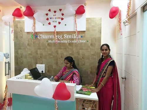 Valentine day celebration at Charming Smile|Charming Smiles Dental Clinic|Dombivli West,Mumbai