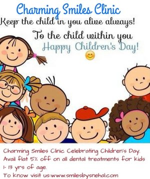 Charming Smiles Clinic Celebrating Children's Day