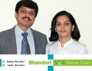 Practice Principals|Bhandari Dental Clinic|Mukund Nagar,Pune