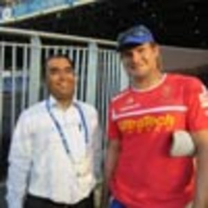 With Shane Watson of Rajasthan Royals|Dr Anand Jadhav|Sadashiv Peth,Pune