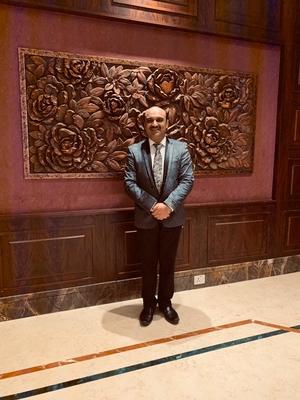 Photo : Dr. HR Saraf at Pune Hip Course