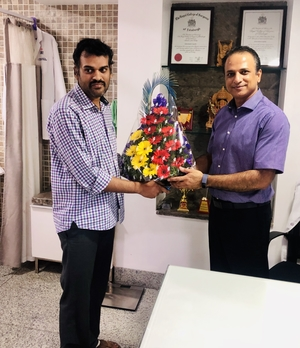 Pt.Mr Krishna Relangi\'s gratitude post surgery .|Dr.Kiran Kumar Lingutla|Ameerpet,Hyderabad