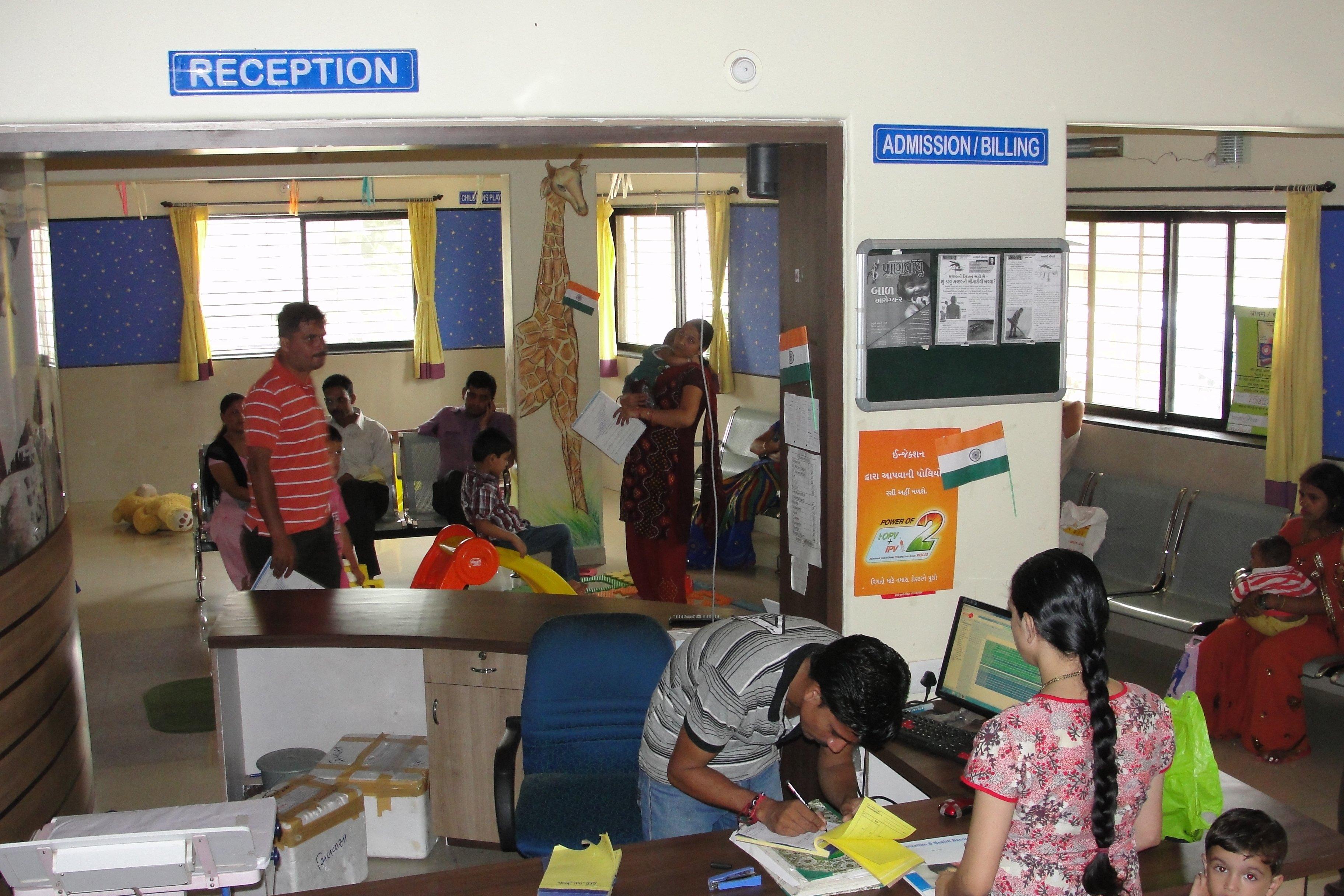 out patient area|Dr Nikam's Sri Sai Marigold Child Care Hospital and NICU|Amli,SILVASSA