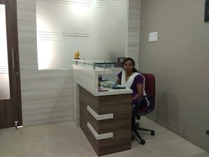 Reception |Dr. Patils Clinic|Spine Road,Bhosari