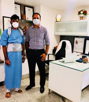 26 yrs old after Spine Tumor removal Surgery|Dr.Kiran Kumar Lingutla|Ameerpet,Hyderabad