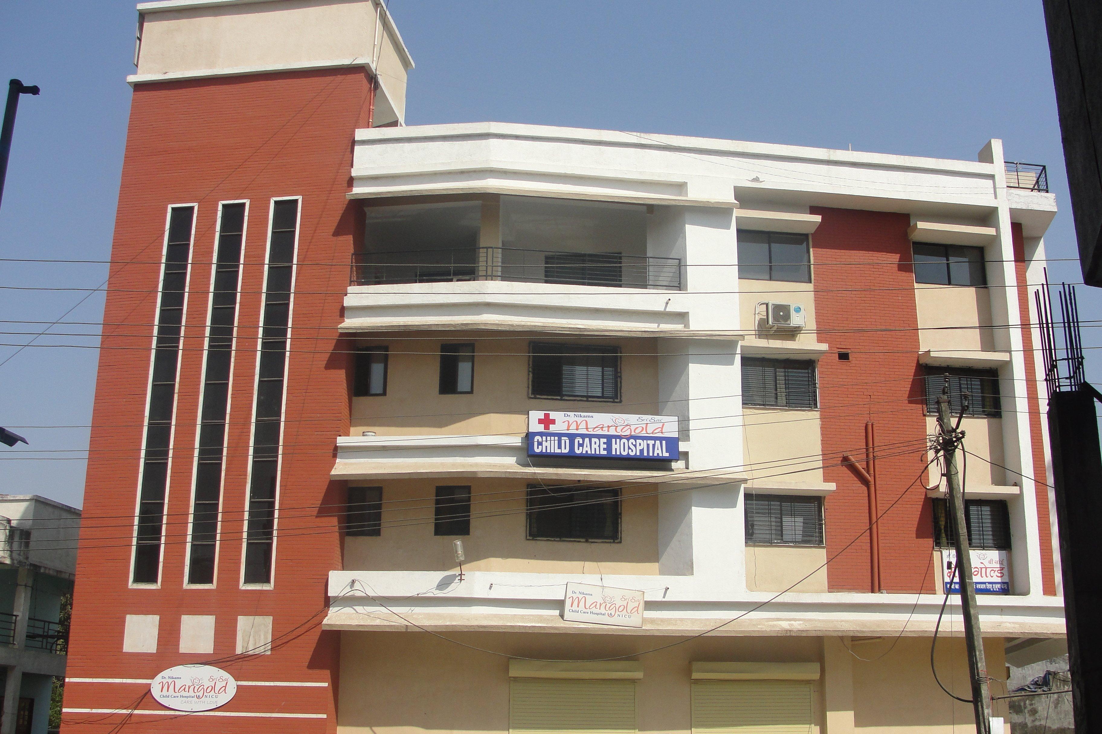 main building|Dr Nikam's Sri Sai Marigold Child Care Hospital and NICU|Amli,SILVASSA