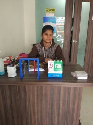 Reception Siddhivinayak ENT Clinic Bibvewadi,Pune