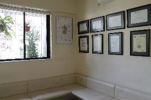 reception Area|Bhandari Dental Clinic|Mukund Nagar,Pune