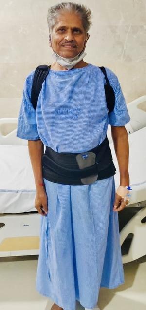 Mr.Laxmi Narsaiah - Multilevel Vertebroplasty|Dr.Kiran Kumar Lingutla|Ameerpet,Hyderabad