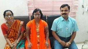Happy Downs Syndrome patient after bilateral cataract surgery|Dr. Suhas Joshi|Visharambag,Sangli